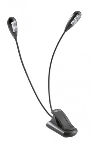 K&M 85650 Notenpultleuchte Duet2 LED