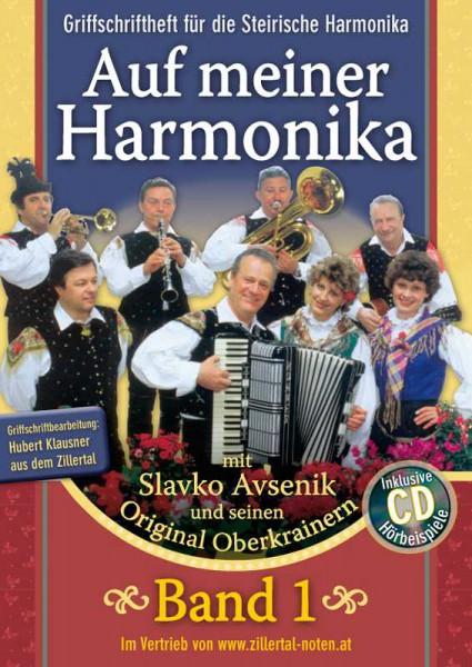 Auf meiner Harmonika - Band 1