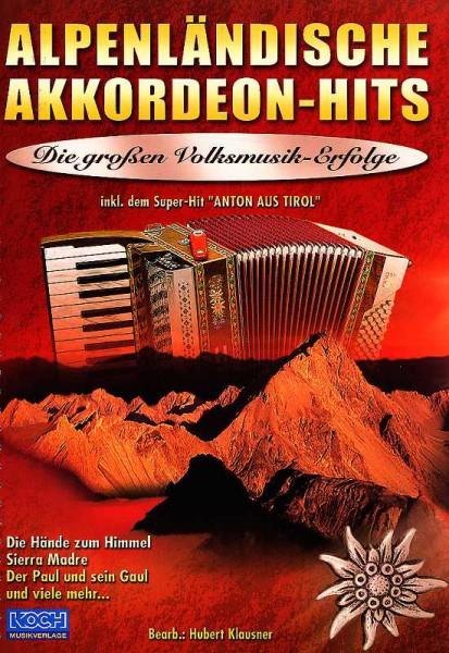 Alpenländische Akkordeon - Hits