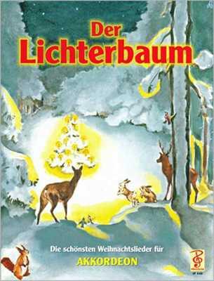 Der Lichterbaum für Akkordeon